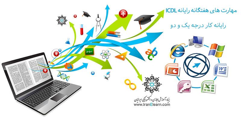 ICDL مهارت های هفتگانه رایانه کار درجه ۱ و ۲