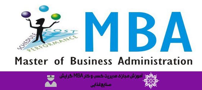 دوره آموزشی مدیریت کسب و کار MBA گرایش صنایع غذایی