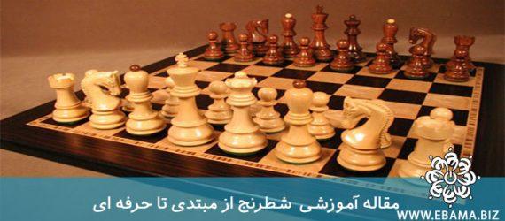 نکاتی در مورد بازی شطرنج