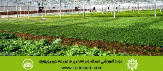 دوره آموزشی اهداف و برنامه ریزی مزرعه هیدروپونیک Goals & Action Planning for Hydroponic Farm E-LearningA