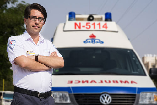 راننده امدادگر