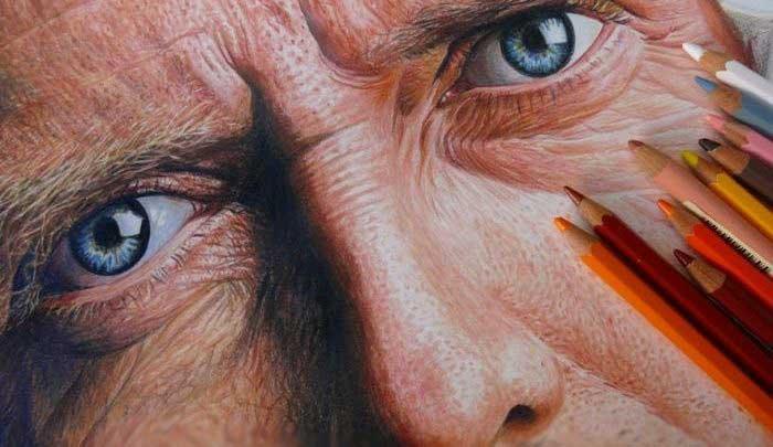 همه چیز در مورد نقاشی با مداد رنگی