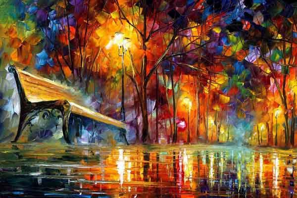 نکات مهم نقاشی رنگ و روغن